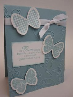 Butterfly Prints Card