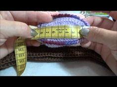 Tabelas de tamanhos toucas e sapatinhos em crochê