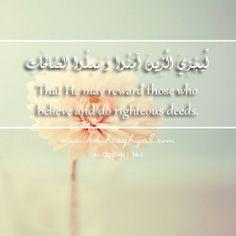 Islamic Daily: Reward