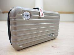 Rimowa Lufthansa Amenity Kit METALLIC GREY GRAY NEW SEALED Incl. Content