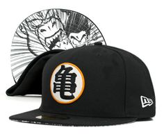 This link shows both the Dragon Ball and One Piece New Era snapback caps. They're old news but still cool. They aren't that hard to find either. In fact you can find them on EBay for less than $80. I say 'less than' because the prices vary depending on which one you're looking at.