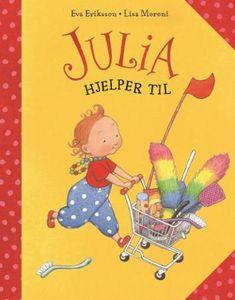 Julia hjelper til | Eva Eriksson | ARK Bokhandel Kai, Lisa, Family Guy, Fictional Characters, Fantasy Characters