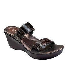 Love this Espresso Treasure Leather Sandal on #zulily! #zulilyfinds