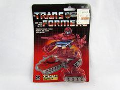 Transformers G1 Parts 1985 BLUESTREAK missile launcher L