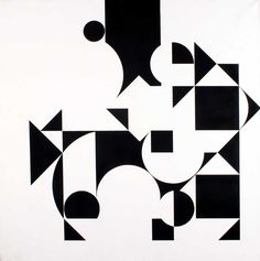 Julio Le Parc Surface series, On reticule, acrylic on canvas, 130 x 130 cm, 1958 - 1990 Abstract Geometric Art, Abstract Pattern, Geometric Shapes, Grid Design, Web Design, Op Art, Isometric Drawing, Composition Art, Illustration Art
