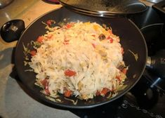 Recipe Sans Gluten, Asian Recipes, Cabbage, Grains, Rice, Vegetables, Food, Asian Cuisine, Rice Noodle Recipes