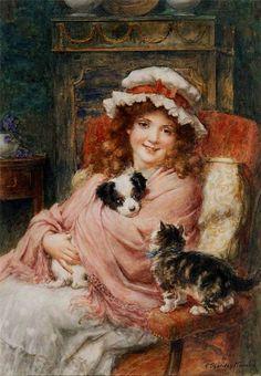 George Sheridan Knowles. English painter, 1863 - 1931).