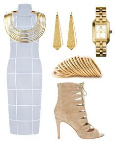 """""""#6"""" by theclassychicc on Polyvore featuring C/MEO COLLECTIVE, Joie, Panacea, Shaun Leane, Tory Burch, Bisjoux, cute, DateNight, Sexy and stylish"""
