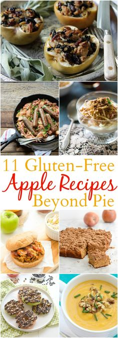 11 Gluten-Free Apple Recipes Beyond Pie l @StephinThyme for About.com