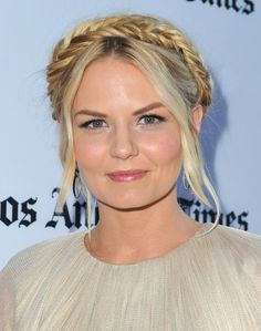 Jennifer Morrison's Ethereal Fishtails - Enchanting Braided Looks From Our Favorite Celebrities  - Photos