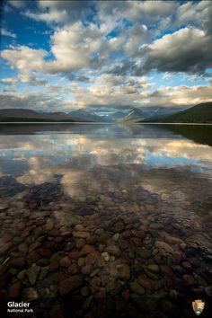 Lake McDonald, in Apgar Village, Glacier National Park, 2014. NPS Photo Tim Rains