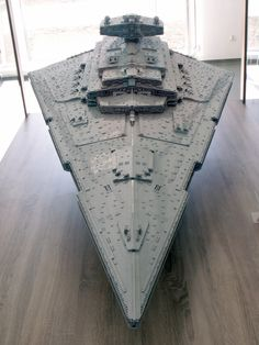 https://flic.kr/p/nPAh6w   Imperial Star Destroyer Chimaera   As far as I know *nobody* knows exact proportions of an ISD; especially Mark II like this one. So I hope I got it right somehow...