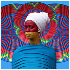 Ethiopian Photographer Aida Muluneh's Body Painting Pictures Will Stop You In Yo. - Ethiopian Photographer Aida Muluneh's Body Painting Pictures Will Stop You In Yo… – – - Abstract Photography, Portrait Photography, Body Painting Pictures, Camouflage, Mind Blowing Images, Cosplay, Maker, Studio Portraits, African Art