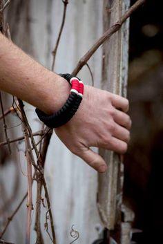 BJJ Black Belt Paracord Bracelet - Wear your rank on your sleeve! -   Martial Arts