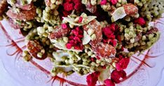 Raw Green Tea Almond Raspberry Granola