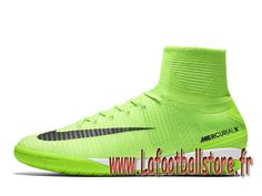 new product 6cc1a 5ef75 Nike MercurialX Proximo II IC Vert ombre Chaussure de football en salle  pour Homme 831976 305