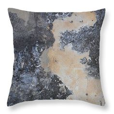 """Fortress Wall III Throw Pillow 14"""" x 14"""""""