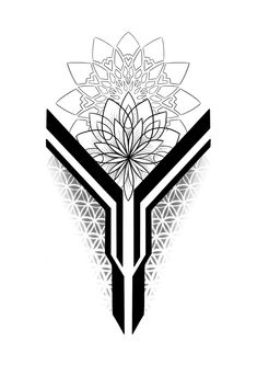 Geometric Tattoo Sleeve Designs, Geometric Tattoo Pattern, Geometric Tattoos Men, Geometric Mandala Tattoo, Maori Tattoo Designs, Mandala Tattoo Design, Tattoo Design Drawings, Dot Work Mandala, Forearm Tattoos