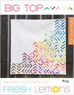 Image of Big Top Quilt Pattern - PDF