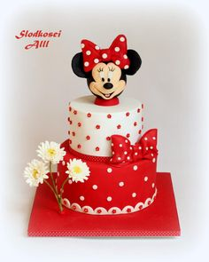 Minnie Mouse Cake - Cake by Alll