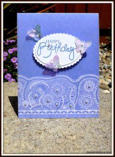 Birthday Butterflies By djkardkreations