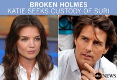 """Story: http://abcn.ws/NKY8lJ A source close to Tom Cruise has told ABC News that Katie Holmes' divorce filing came as """"complete surprise"""" and that Holmes asking for sole custody of Suri.    Photo credit: Ida Mae Astute/ABC"""