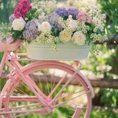 My bicycle {pastels}