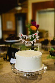 Rustic Wedding Cake topper