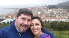 #anabelycarlos #año2015   #vidanueva  disfrutando de este jueves!! Una vista espectacular, aunque el sol aquí se hace el tímido!! blog.carlossanin.com