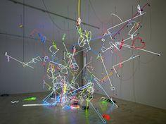Anselm Reyle: 'Arise', Sammlung Heiner Bastian, Berlin, 2010. Photo by The Modern Institute