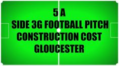 5 A Side 3G #FootballPitch Construction Cost Gloucestershire - http://www.sportsandsafetysurfaces.co.uk/surface-types/3g/construction/