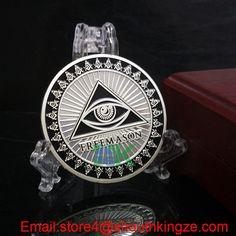2016 hoting  Freemason Masonic Coin  #Aliexpress  #metalcraft #coin #Xmas #valentinesday #gift