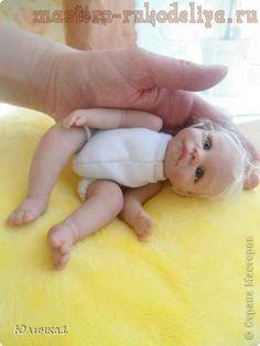 Мастер-класс по лепке куклы ООАК. Лепка куклы с глазками