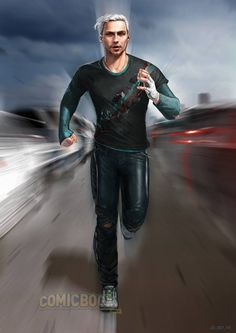 AVENGERS: AGE OF ULTRON Concept Art Reveals More Radically Different Looks For 'Quicksilver'