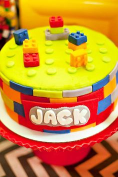 Colorful Lego Themed Party {Twin Boys Birthday} // Hostess with the Mostess®
