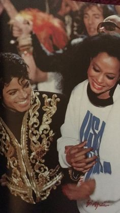 Diana Ross and Michael Michael Jackson Bad, Michael Jackson Thriller, Mike Jackson, Michael Jackson Wallpaper, Ferrat, The Jacksons, Diana Ross, We Are The World, Pop Singers
