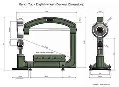 English wheel schematic