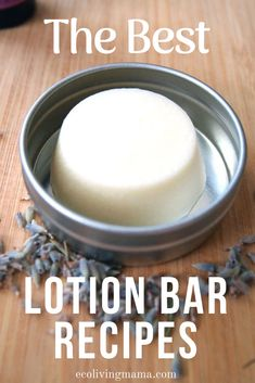 Check out this awesome lotion bar recipe with 5 variations, including a baby-safe option! Solid lotion bars are a natural, non-toxic alternative to regular lotion that you can easily make at home. They are super concentrated, full of plant based and essen Best Lotion, Diy Lotion, Lotion Bars, Soap Recipe, Lotion Recipe, Mama Recipe, Beauty Care, Diy Beauty, Beauty Hacks