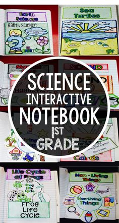 Teach science with these interactive notebooks. Kids will love these elementary science notebooks because they are interactive and include templates and fodables. This product includes foldables on li (Step Class Common Cores)