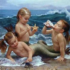 Little mermaidens
