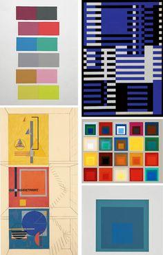 Josef Albers #design #modern #bauhaus