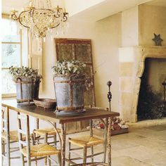 French Country Interiors French Country Interior Design Elements French Country Interior Design Elements French Country House By Authentic Interiors French Country Decor Images French Country Interiors, Country Interior Design, Interior Design Elements, French Country Farmhouse, Tuscan Design, French Country Style, French Decor, French Country Decorating, Dining Room Table