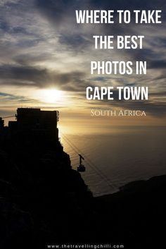 Where to take the best photos in Cape Town South Africa ********************************* Instagram-worthy places in Cape Town | Instagrammable places in Cape Town | Instagram | South Africa | Table Mountain | Cable Car Table Mountain