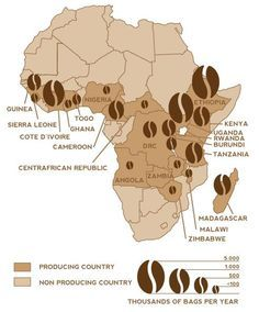 african coffee Exotic Coffee Ideas: More At FOSTERGINGER