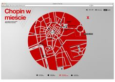 Chopin in the City by Michal Sycz, via Behance