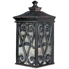 """Newbury Collection 12 1/2"""" High Outdoor Wall Light - $111.91 6 1/2"""" wide, extends 6"""" from wall"""