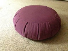 Make your own zafu (meditation pillow)