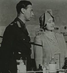 King George VI and Queen Mother