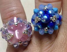 Join me on Facebook https://www.facebook.com/GinasGemcreations Shop for kits for this ring and other projects and loose beads here: https://www.facebook.com/...