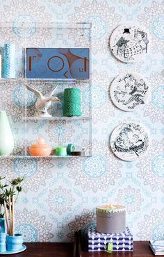 Bjørn Wiinblad hygge Hygge, Abstract Flowers, Platter, Photo Art, Gallery Wall, New Homes, Wall Decor, Decor Ideas, Ceramics